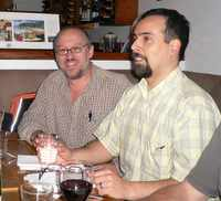 Dining out in Noosa (picture by Colin)
